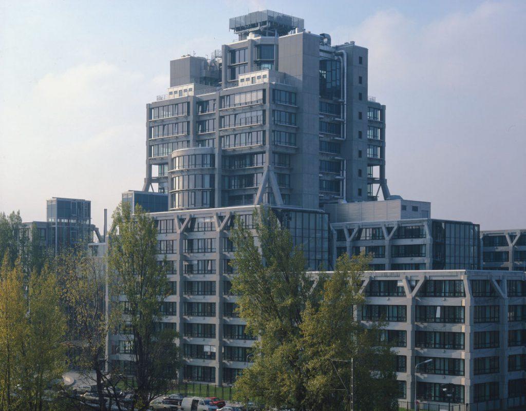 Frankfurt, ehemalige Bahnzentrale (Foto: Dieter Leistner, um1993)