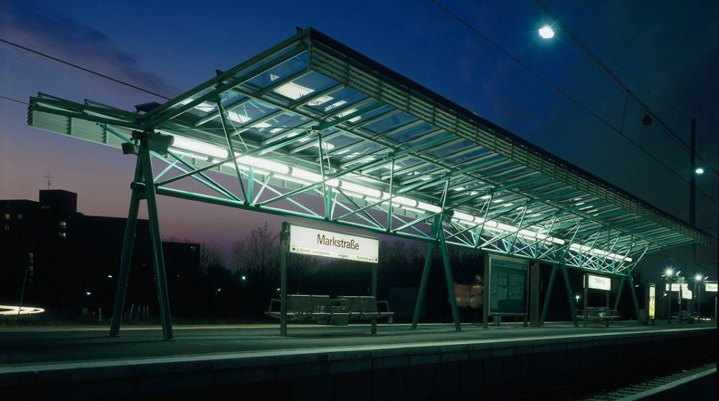 """Bochum, Stadtbahnhof """"Markstraße"""" an der U 35 (Bild: RMA-Architekten, Essen)"""