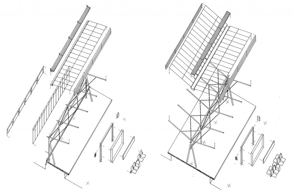 Bochum, modulares System für Stadtbahnhöfe an der U 35 (Bild: RMA-Architekten, Essen)