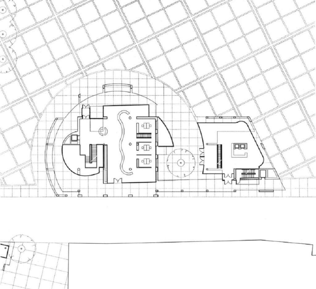 Ulm, Stadthaus (Bild: Grundriss, Richard Meier)