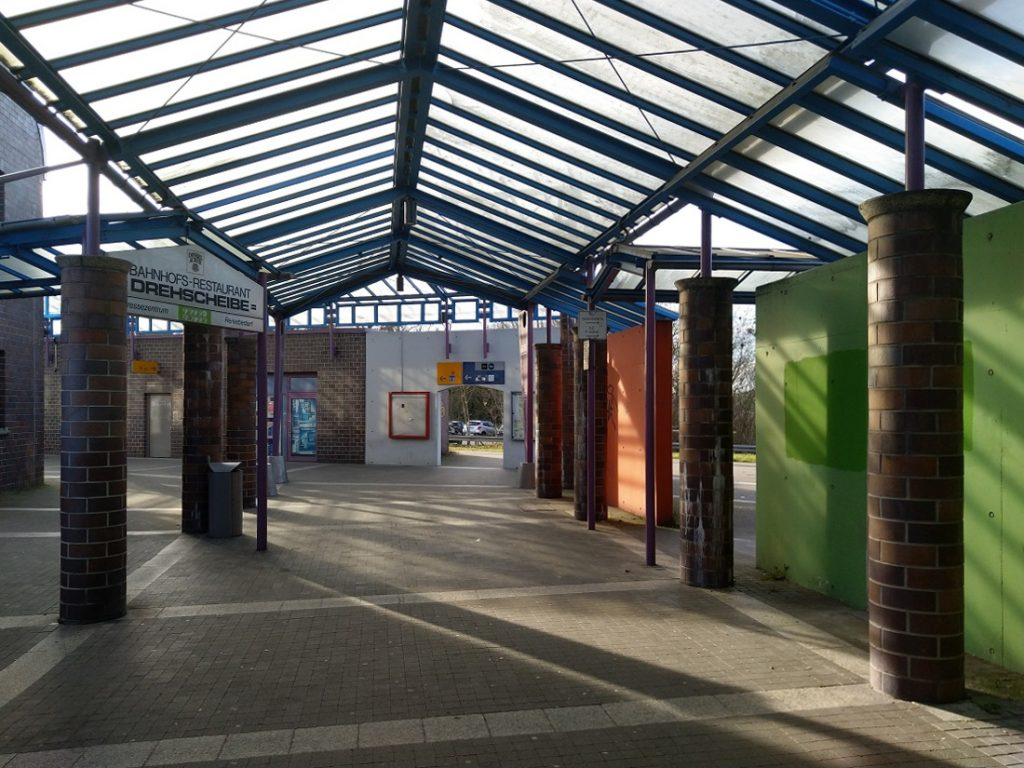 Bahnhof Vaihingen/Enz (Bild: Landesdenkmalamt Baden-Württemberg, M. Hahn, 2020)