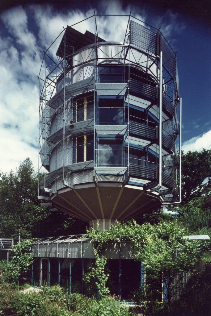 Freiburg im Breisgau, Heliotrop (Bild: Rolf Disch, SolarArchitektur)