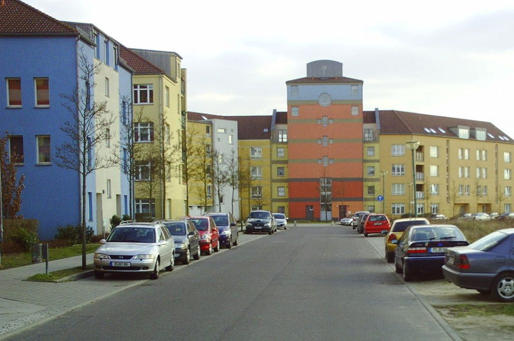Potsdam, Kirchsteigfeld (Bild: 2. Juni, CC BY SA 3.0, 2009)